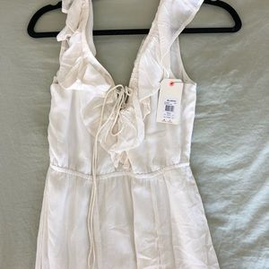 Billabong white Maxi dress.